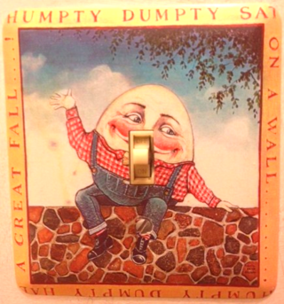 Humpty Dumpty Switchplate