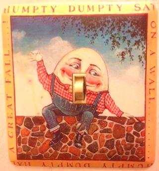 Humpty Dumpty Switchplate