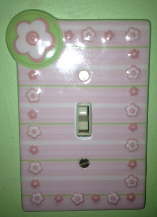Flower Switchplate