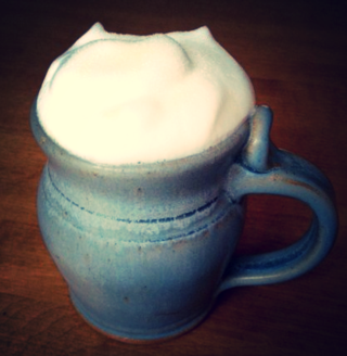 Hot froth