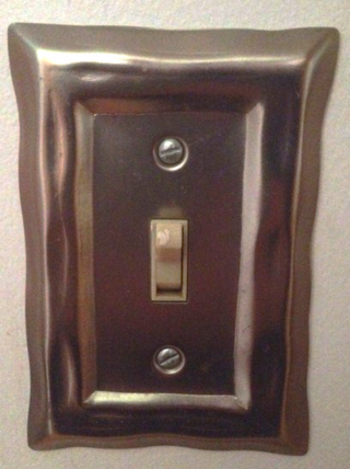Metal switchplate