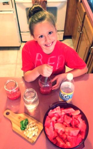 Maggie watermelon drink 2