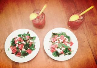 Watermelon lunch